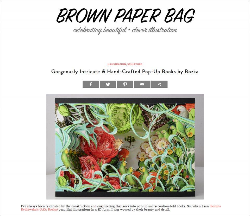 PRESS: Brown Paper Bag