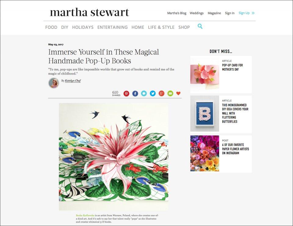 PRESS: Martha Stewart